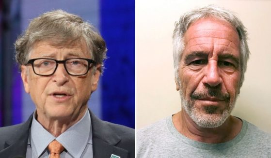 Microsoft Corporation co-founder Bill Gates, left, discusses his relationship with convicted sex offender Jeffrey Epstein following Epstein's death.