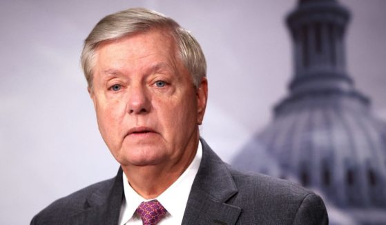 Republican Sen. Lindsey Graham of South Carolina speaks during a news conference at the U.S. Capitol on Friday in Washington, D.C.