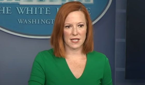 White House press secretary Jen Psaki answers a question during her news briefing on Friday.