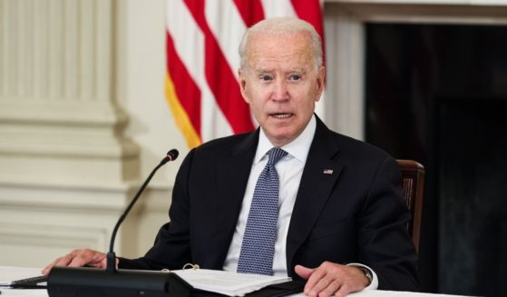 President Joe Biden speaks before a meeting with Cuban-American leaders and activists in the State Dining Room of the White House last week in Washington, D.C.