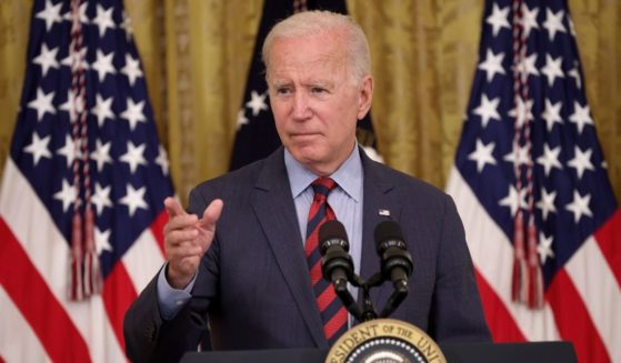 President Joe Biden takes questions during an event in the East Room of the White House Tuesday in Washington, D.C.