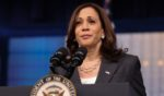 Vice President Kamala Harris delivers remarks in the Eisenhower Executive Office Building on July 27, 2021, in Washington, D.C.