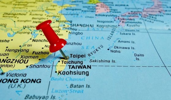 A map of China and Taiwan is pictured in the stock image above.