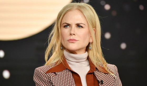 Nicole Kidman speaks at the Langham Huntington Hotel on Jan. 15, 2020, in Pasadena, California.