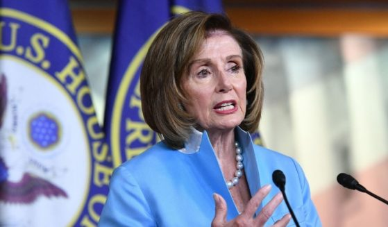 Speaker of the House, Nancy Pelosi speaks during her weekly briefing on Capitol Hill in Washington, D.C., on Aug. 6, 2021.