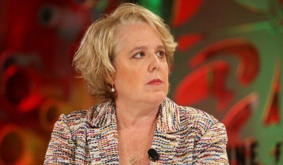 Roberta Kaplan speaks at Fortune's Most Powerful Women Summit 2018 at the Ritz Carlton Hotel on Oct. 2, 2018, in Laguna Niguel, California.