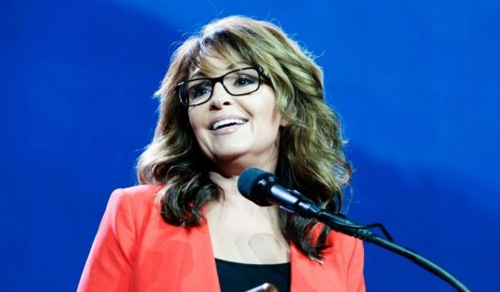 Former Alaska Gov. Sarah Palin addresses the audience at the 2016 Western Conservative Summit in Denver on July 1, 2016.