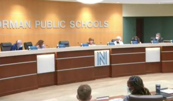 The Norman Public Schools board conducts a meeting on Monday.