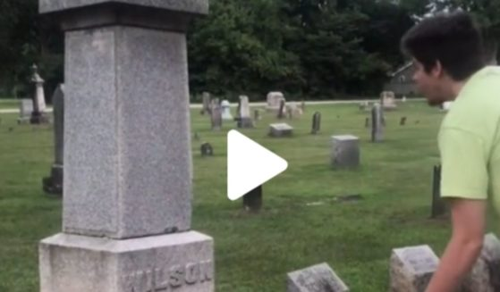 TikTok user Benjamin Raab 'performs' the song 'Rick and Morty' by Soulja Boy at what he thought was the gravesite of Woodrow Wilson, the nation's 28th president.
