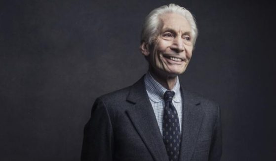 Rolling Stones band member Charlie Watts poses for a portrait in New York on Nov. 14, 2016.