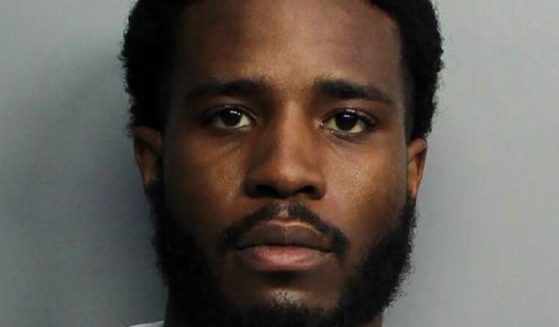 A photo provided by the Miami-Dade Police Department depicts suspect Tamarius Blair Davis Jr.