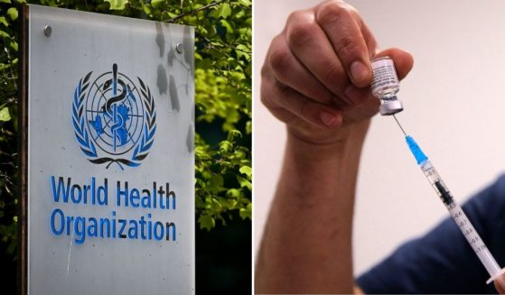 """The World Health Organization, left, appeared to have changed its definition of """"herd immunity"""" in November 2020, following the outbreak of COVID-19, prompting some to question the organization's intentions."""