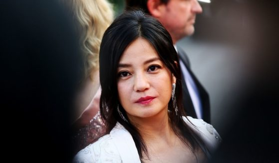 Zhao Wei attends the closing ceremony of the 73rd Venice Film Festival at Sala Grande on Sept. 10, 2016, in Venice, Italy.