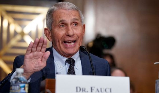 Dr. Anthony Fauci, director of the National Institute of Allergy and Infectious Diseases, responds to questions during a Senate Health, Education, Labor and Pensions Committee hearing on Capitol Hill in Washington, D.C., on July 20, 2021.