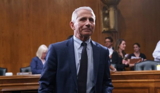 Top infectious disease expert Dr. Anthony Fauci finishes his testimony before the Senate Health, Education, Labor, and Pensions Committee about the status of COVID-19, July 20, 2021, on Capitol Hill in Washington, D.C.