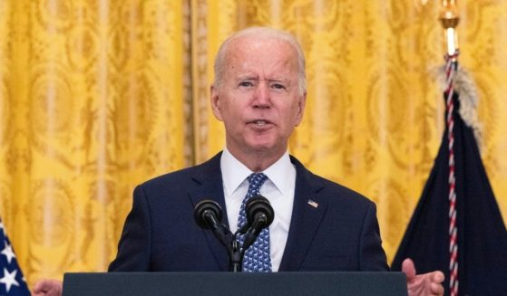 President Joe Biden speaks on workers rights and labor unions in the East Room at the White House on Sept. 8, 2021 in Washington, D.C.