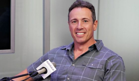 CNN anchor Chris Cuomo is seen in a file photo from June 2019, during a Sirius XM interview.