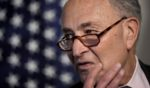 Senate Majority Leader Chuck Schumer of New York speaks to reporters on Capitol Hill in Washington on May 25.