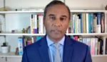 Dr. Shiva Ayyadurai, who holds a Ph.D. in systems engineering from the Massachusetts Institute of Technology, testifies via video conference with members of the Arizona Senate hearing on Friday regarding the results of the 2020 election audit.
