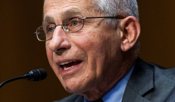 Dr. Anthony Fauci, director of the National Institute of Allergy and Infectious Diseases at the National Institutes of Health, answers a question during a Senate Health, Education, Labor, and Pensions Committee hearing in the Dirksen Senate Office Building in Washington on May 11.