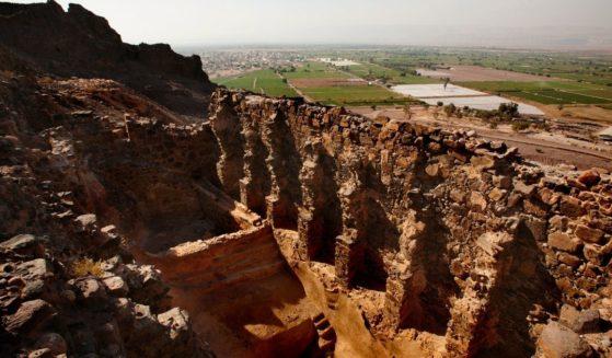 Archaeological site of Numeira, Numeira, Al-Karak Governorate, Jordan on Dec. 31, 2007.
