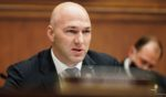 Republican Rep. Anthony Gonzalez of Ohio speaks during a House Financial Services Committee hearing on Capitol Hill in Washington on Dec. 2, 2020.