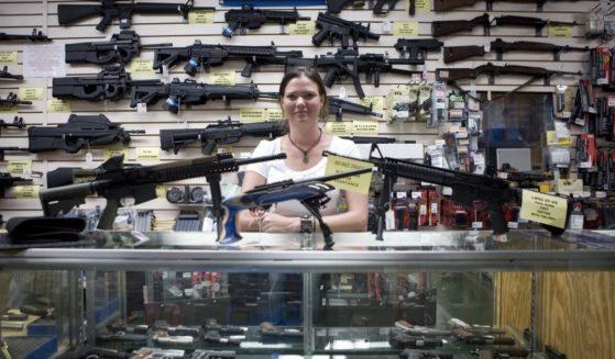 Texas Gun is seen in San Antonio on June 17, 2009.