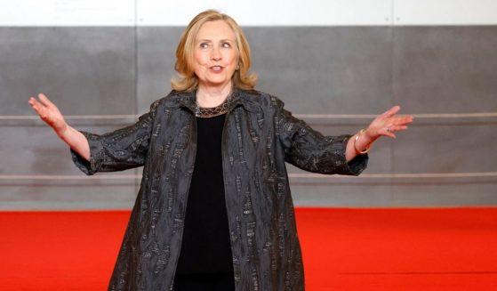 Hillary Clinton spoke at a UN program in Paris in June.
