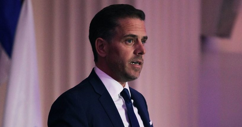 Hunter Biden, then-chairman of World Food Program USA, speaks on stage at the organization's Annual McGovern-Dole Leadership Award Ceremony at the Organization of American States on April 12, 2016, in Washington, D.C.
