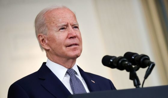President Joe Biden delivers remarks on the August jobs numbers at the White House on Friday.
