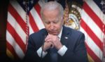 President Joe Biden is pictured during an event in the Executive Office Building on Wednesday in Washington, D.C.