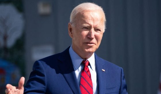 President Joe Biden speaks during a visit to Brookland Middle School in Washington, D.C., on Friday.