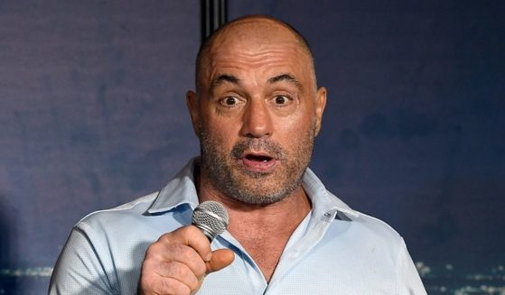 Podcast host Joe Rogan performs during his appearance at The Ice House Comedy Club on April 17, 2019, in Pasadena, California.