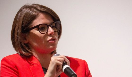 Kasie Hunt attends the DC Special Screening of The Front Runner at the Smithsonian National Museum of American History on Oct. 3, 2018 in Washington, D.C.