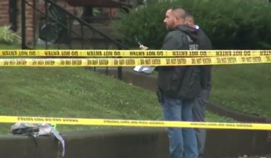 A 16-year-old died and two other teenagers were wounded after a drive-by shooting Wednesday at a school bus stop in Louisville, Kentucky.