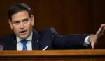Republican Sen. Marco Rubio of Florida asks a question during a Senate Foreign Relations Committee hearing on Capitol Hill in Washington on Sept. 14.