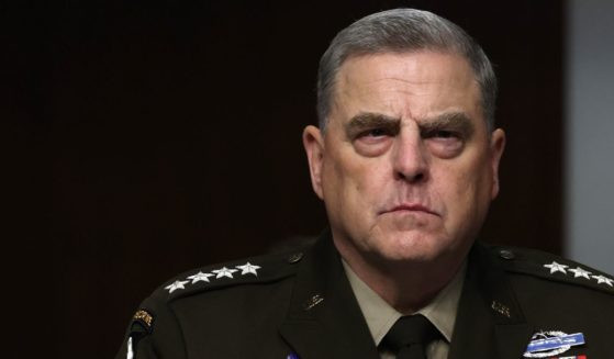 Chairman of the Joint Chiefs of Staff Gen. Mark Milley listens during a Senate Armed Services Committee hearing on Capitol Hill on June 10, 2021, in Washington, D.C.