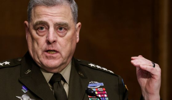 Joint Chiefs of Staff Chair Gen. Mark Milley testifies on the Defense Department's budget request during a Senate Appropriations Committee hearing on Capitol Hill on June 17, 2021, in Washington, D.C.