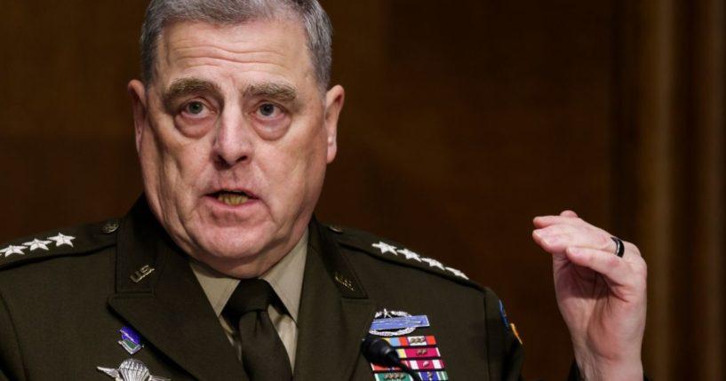 Pentagon Confirms Milley's Treason