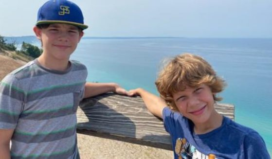A crash last week claimed the life of Sylas Keys, 13, left, while his brother Elliot, 8, is fighting for life.