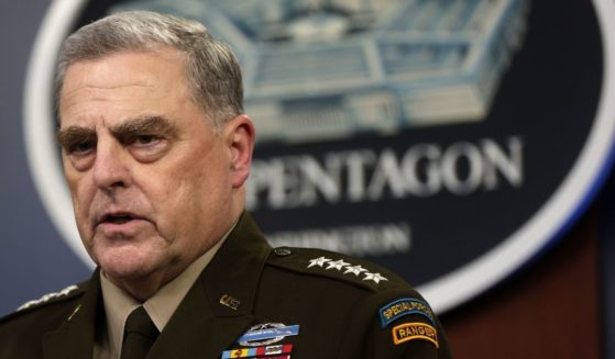 Army Gen. Mark Milley, chairman of the Joint Chiefs of Staff, speaks at a Pentagon briefing on Aug. 18, 2021.