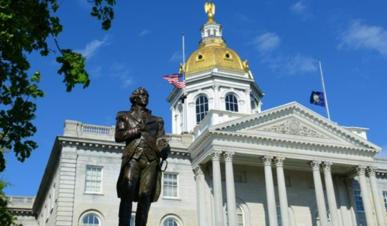 The New Hampshire Statehouse is seen in the above stock image.