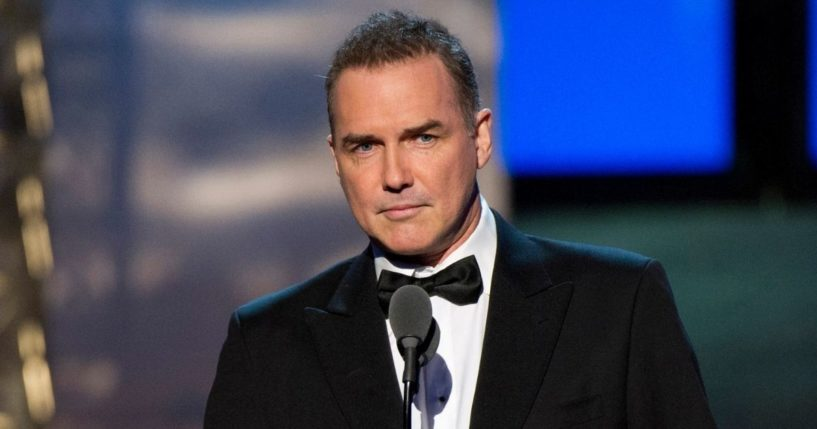 Late comedian Norm Macdonald appears onstage at the 2012 Comedy Awards in New York on April 28, 2012.