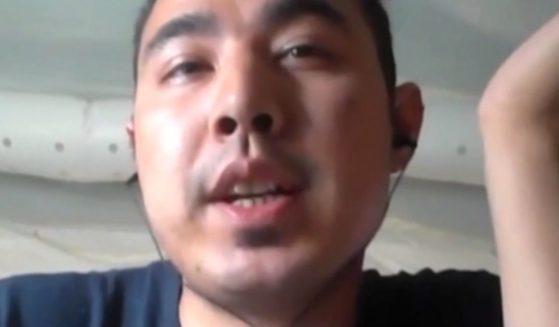 Afghan refugee Ahmadi spoke to KTSM-TV in El Paso, Texas.