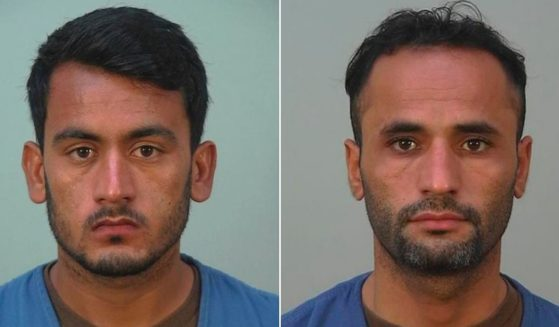 Afghan refugees Bahrullah Noori, 20, left, and Mohammad Haroon Imaad, 32, are facing criminal charges in Wisconsin.