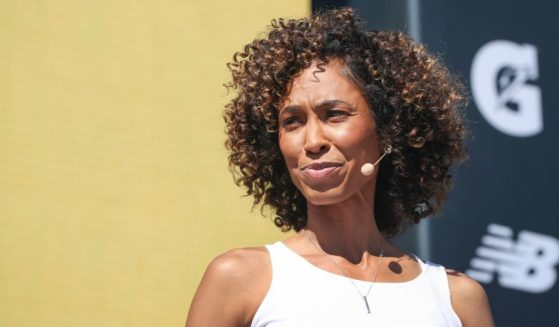 SportsCenter anchor Sage Steele at the espnW Women + Sports Summit held at The Resort at Pelican Hill on Oct. 23, 2019 in Newport Beach, California.