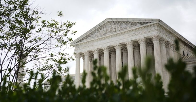 The Supreme Court is seen in Washington, D.C., on Sept. 1, 2021.
