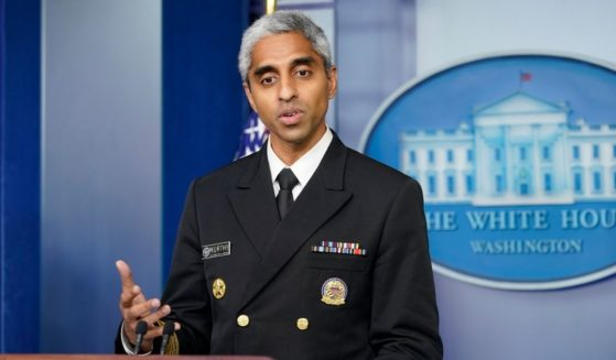 Surgeon General Dr. Vivek Murthy, pictured in a July file photo.