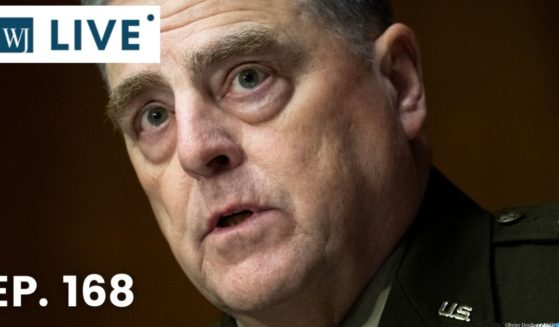 """Chairman of the Joint Chiefs of Staff Gen. Mark Milley testifies before the Senate Appropriations Committee for its hearing on """"A Review of the FY2022 Department of Defense Budget Request' on June 17, 2021, in Washington, D.C."""