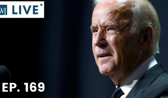 Then-Vice President Joe Biden speaks during the 19th Annual HRC National Dinner at Walter E. Washington Convention Center on Oct. 3, 2015, in Washington, D.C.